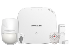 Kit sistem de alarma Wireless(868Mhz), 3G 4G, LAN-WIFI , RF Card - HIKVISION